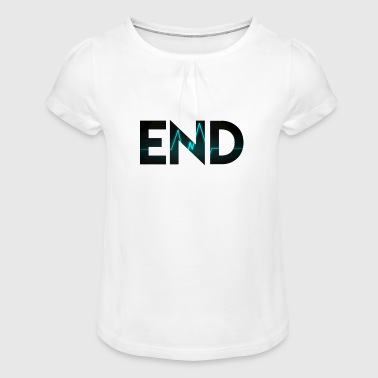 End - Girl's T-Shirt with Ruffles