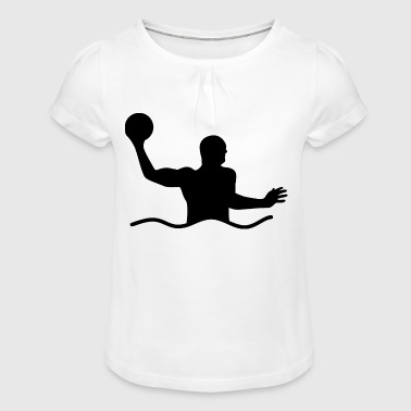 Water Polo Water Polo Water Sports - Girl's T-Shirt with Ruffles