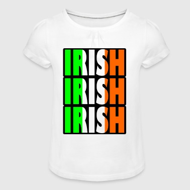 irish irish - Girl's T-Shirt with Ruffles