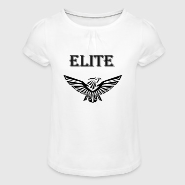 ELITE - T-shirt à fronces au col Fille