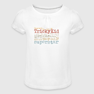 Tricky Kid - T-shirt à fronces au col Fille