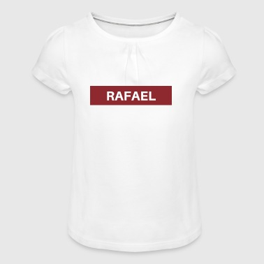 Rafael - Girl's T-Shirt with Ruffles