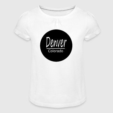 Denver - T-shirt à fronces au col Fille