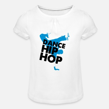 Hip Hop danse HIPHOP - T-shirt à fronces au col Fille