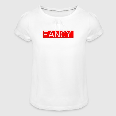 Fancy - Girl's T-Shirt with Ruffles