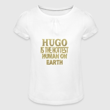 Hugo - Girl's T-Shirt with Ruffles