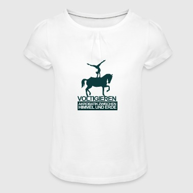 Vaulting - Girl's T-Shirt with Ruffles