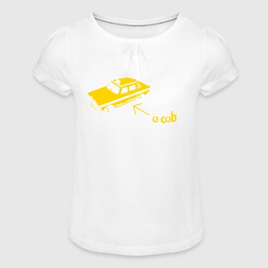 A CAB - Girl's T-Shirt with Ruffles