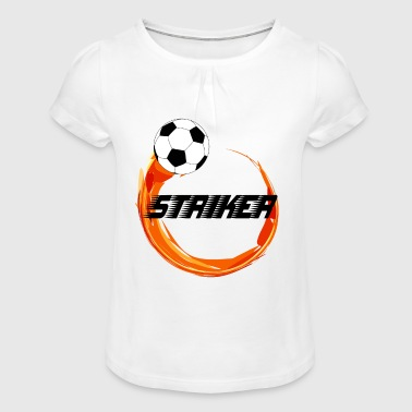 Striker - Girl's T-Shirt with Ruffles