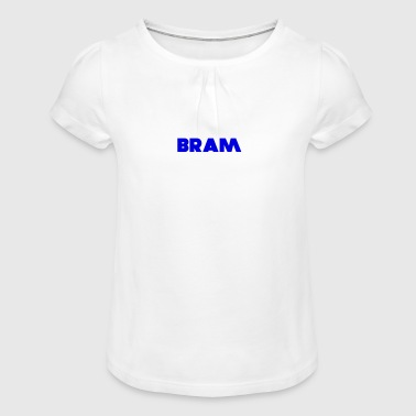 BRAM Design - Girl's T-Shirt with Ruffles