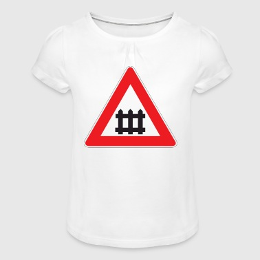 Road signs - Girl's T-Shirt with Ruffles