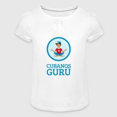 Cuban Guru - Girl's T-Shirt with Ruffles