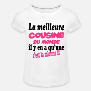 T-shirt à fronces Fille