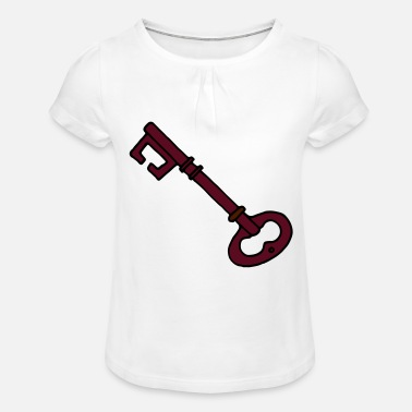 Key key - Girls' Ruffle T-Shirt