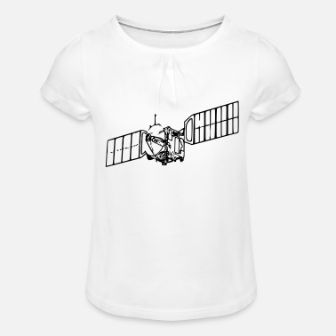 Satellite Satellite - Girls' Ruffle T-Shirt