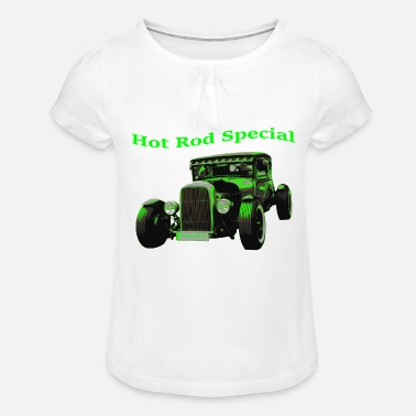 Hot Rod Hot Rod - Girls' Ruffle T-Shirt