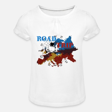 Trip Road-trip - T-shirt à fronces Fille