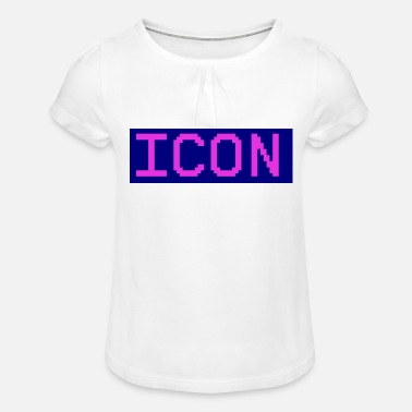 Icon icon - Girls' Ruffle T-Shirt