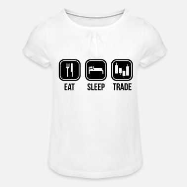 Trade trading - Girls' Ruffle T-Shirt
