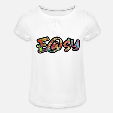 easy - Girls' Ruffle T-Shirt
