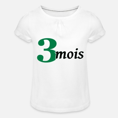 3 mois - Girls' Ruffle T-Shirt