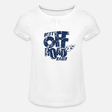Terrain Terrain race - Girls' Ruffle T-Shirt