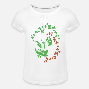 claudia - Girls' Ruffle T-Shirt