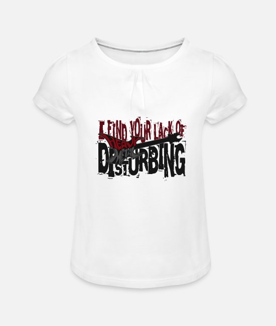 Heavy Metal T-shirts - Heavy Metal - T-shirt à fronces Fille blanc