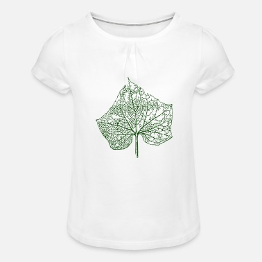 Leave - Girls' Ruffle T-Shirt