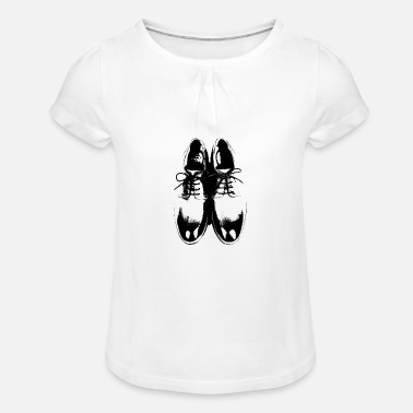 Chaussure Chaussures chaussures - T-shirt à fronces Fille