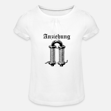 Attractive attraction - Girls' Ruffle T-Shirt