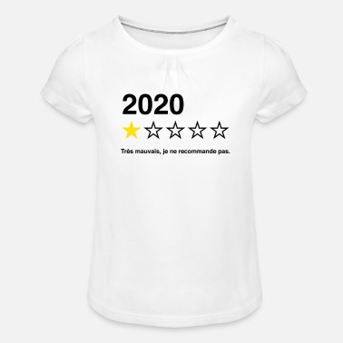 2020 - T-shirt à fronces Fille