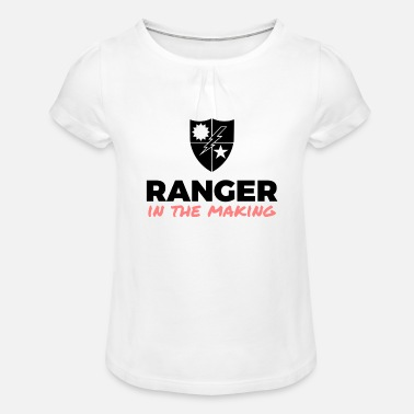 Ranger in the Making - Meisjes T-shirt met plooien