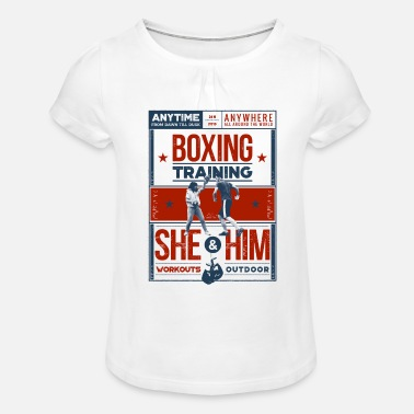 Boxing Training Boxing Training - Girls' Ruffle T-Shirt