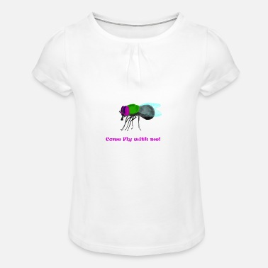 Fly Fly / fly - Girls' Ruffle T-Shirt