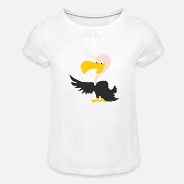 Vulture vulture - Girls' Ruffle T-Shirt