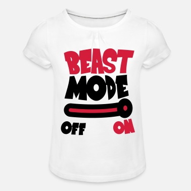Beast Mode Beast Mode On - T-shirt à fronces Fille