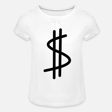 Dollar dollar - T-shirt à fronces Fille