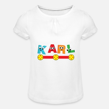 Karl Karl - Girls' Ruffle T-Shirt