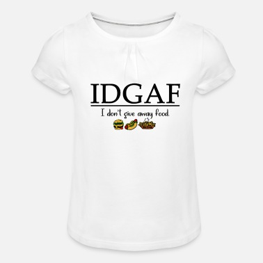 Fast Food Fast food - Girls' Ruffle T-Shirt