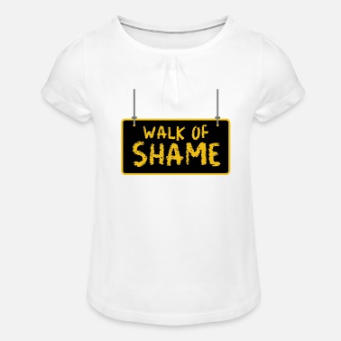 Jack Underwear Halloween Sexy Walk Of Shame Party Joke Gifts - Girls' Ruffle T-Shirt