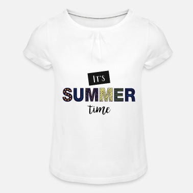 Daylight Saving Time daylight saving time - Girls' Ruffle T-Shirt