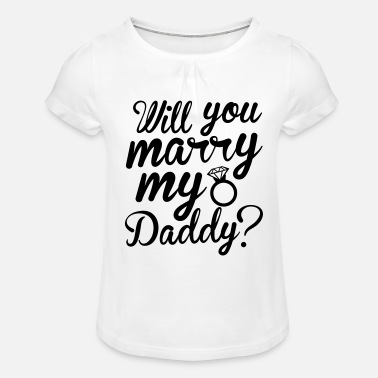 Marry Marry - Girls' Ruffle T-Shirt