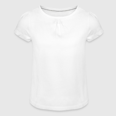 The remix - Girl's T-shirt with Ruffles