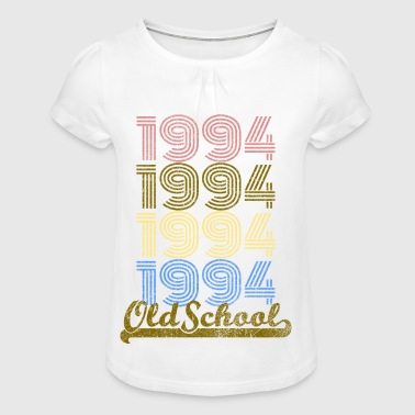 Old School 1994 - T-shirt à fronces au col Fille