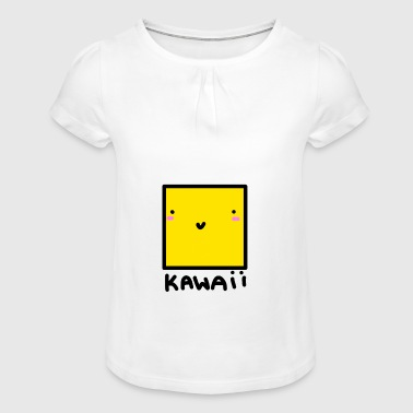 Kawaii - Girl's T-shirt with Ruffles