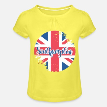 Southampton - Girls' Ruffle T-Shirt