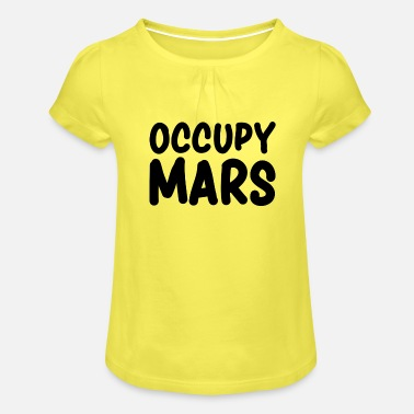 Occupy Occupy Mars - T-shirt à fronces Fille