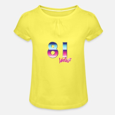 81 - Girls' Ruffle T-Shirt