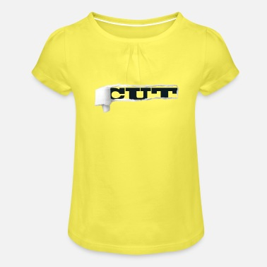 Cut cut - Girls' Ruffle T-Shirt